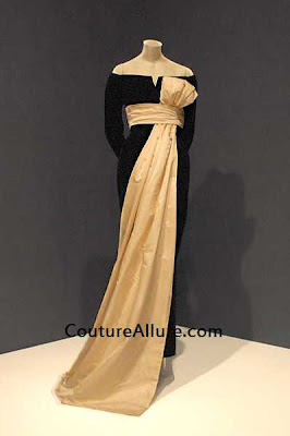 1955 dior evening gown