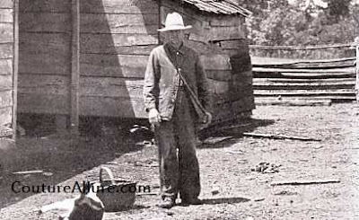 1931, farmer, denim, chore jacket, great depression