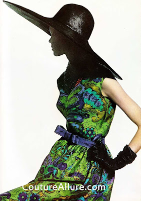 samuel winston dress, 1961, mr. john hat