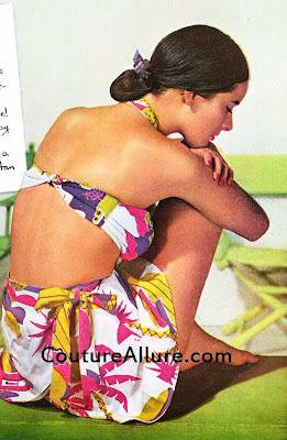 louella ballerino swimsuit 1945