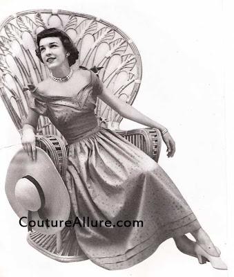 carolyn schnurer dress, 1949