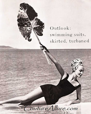 hubert de givenchy, Jantzen, swimsuit, 1957