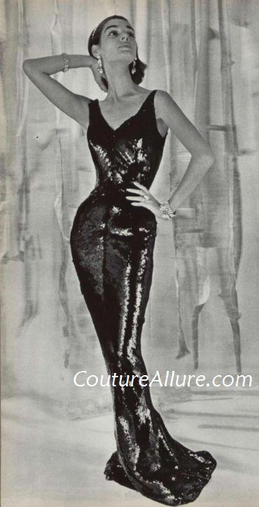 1955 evening dresses