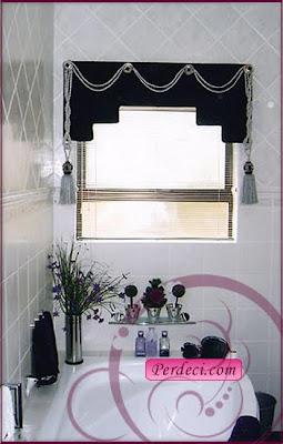banyo perdesi15 b Banyo Perdeleri