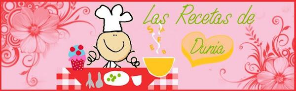 Las recetas de Dunia