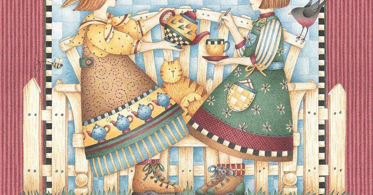 Casita del patchwork amigas tomando the - La casita del patchwork ...