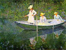 Monet Boating