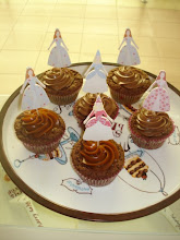 Cupcakes y bailarinas de galleta