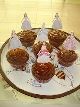 Cupcakes y bailarinas de galleta