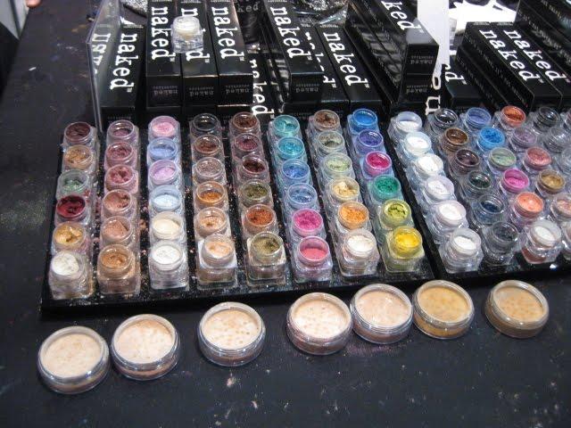 naked cosmetics imats 2010 london