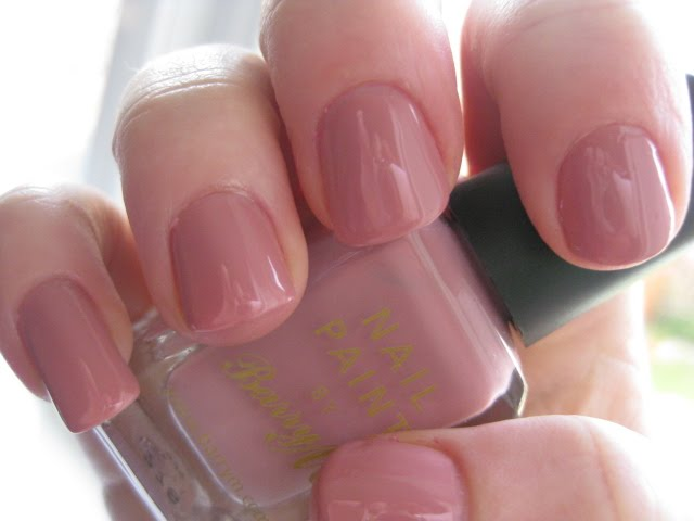 barry m mulberry pink #276 nail polish