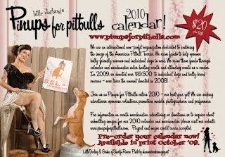 Pin-Ups for Pit Bulls Calender Fundraiser