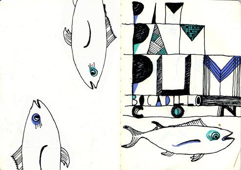 moleskine// sketch 1: pim pam pum