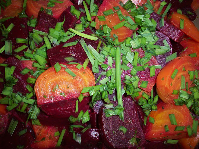 SLO Roasted Sweet Beet Salad