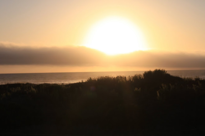 Brilliant Sun Setting Over Morro Bay