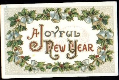 Vintage New Years PostCards