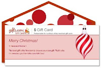 Gift Card On New Year