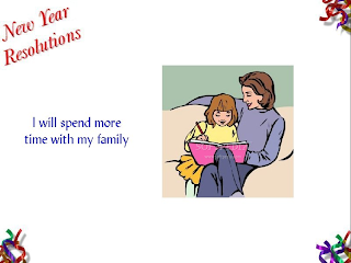 New Year Resolutions Cards