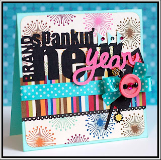 happy new year paper greeting cards