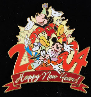 new year cards by walt disney