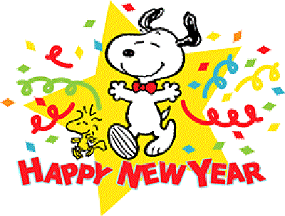 Snoopy Happy New Year Cards