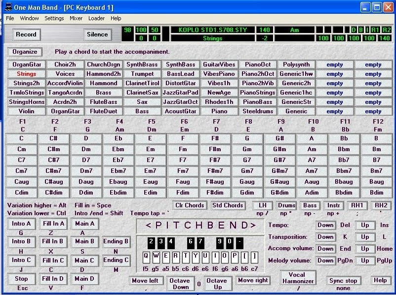 Image Result For Yamaha Keyboard Voice List
