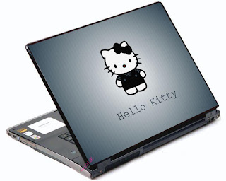 Hello Kitty Laptop Notebook Skin Sticker Cover