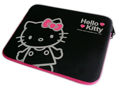 HELLO KITTY LAPTOP NOTEBOOK SLEEVE CASE COVER