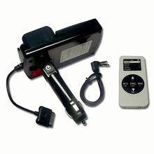 6 in 1 Car Kit iPhone MP3 MP4 Player w/ FM Transmitter