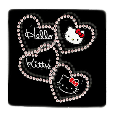 hello kitty love. Hello Kitty Love Heart Black 2