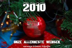 Spetterende wensen voor 2010