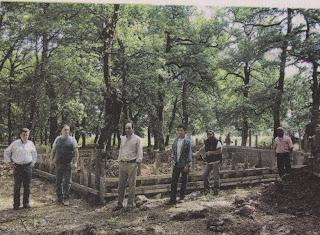 Με τις ευλογίες μητροπολίτη χτίζουν αυθαίρετο στο δρυοδάσος της Φολόης