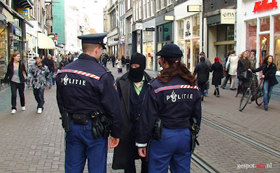 Male Burka discrimination