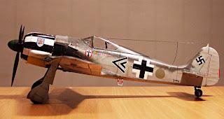 fw-190A-4 tamiya
