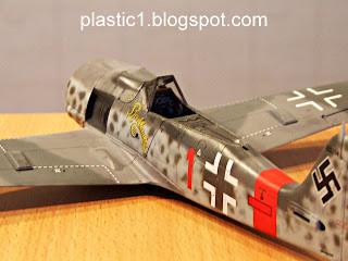 Tamiya Fw-190 A-8 Rauhbautz