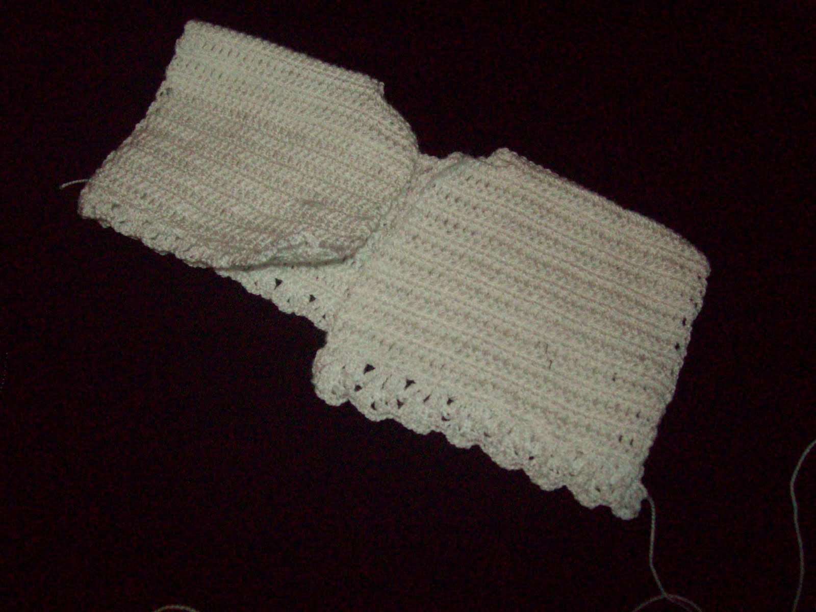 vestido para bebé en crochet