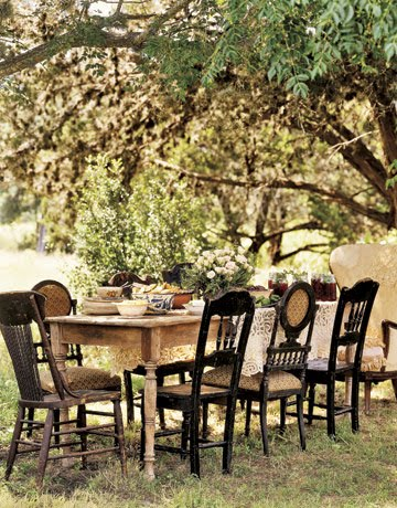Vignette Design Alfresco Dining Ideas