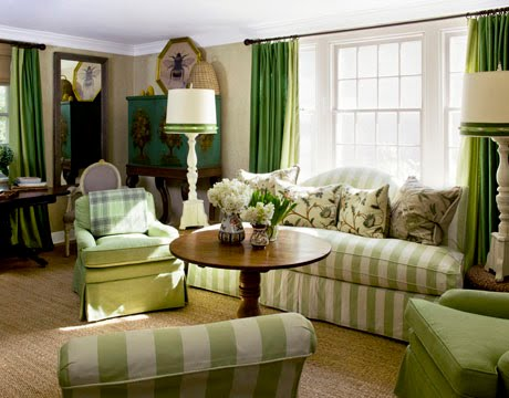 Charming Decorating With Green