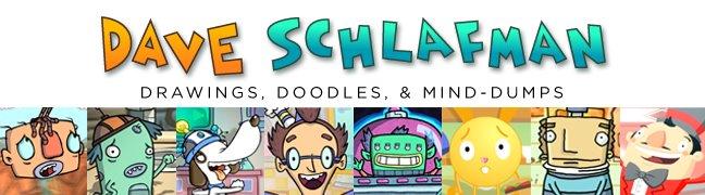 Dave Schlafman's Doodles