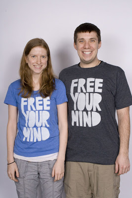 free smiles - Free Your Mind T-Shirt: Design Process