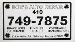Bob&#39;s Auto Repair