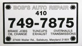 Bob's Auto Repair