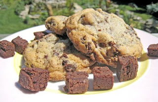 Jumbo Empanadas: Brownie Chunk Cookies