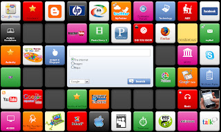my PLN, symbaloo