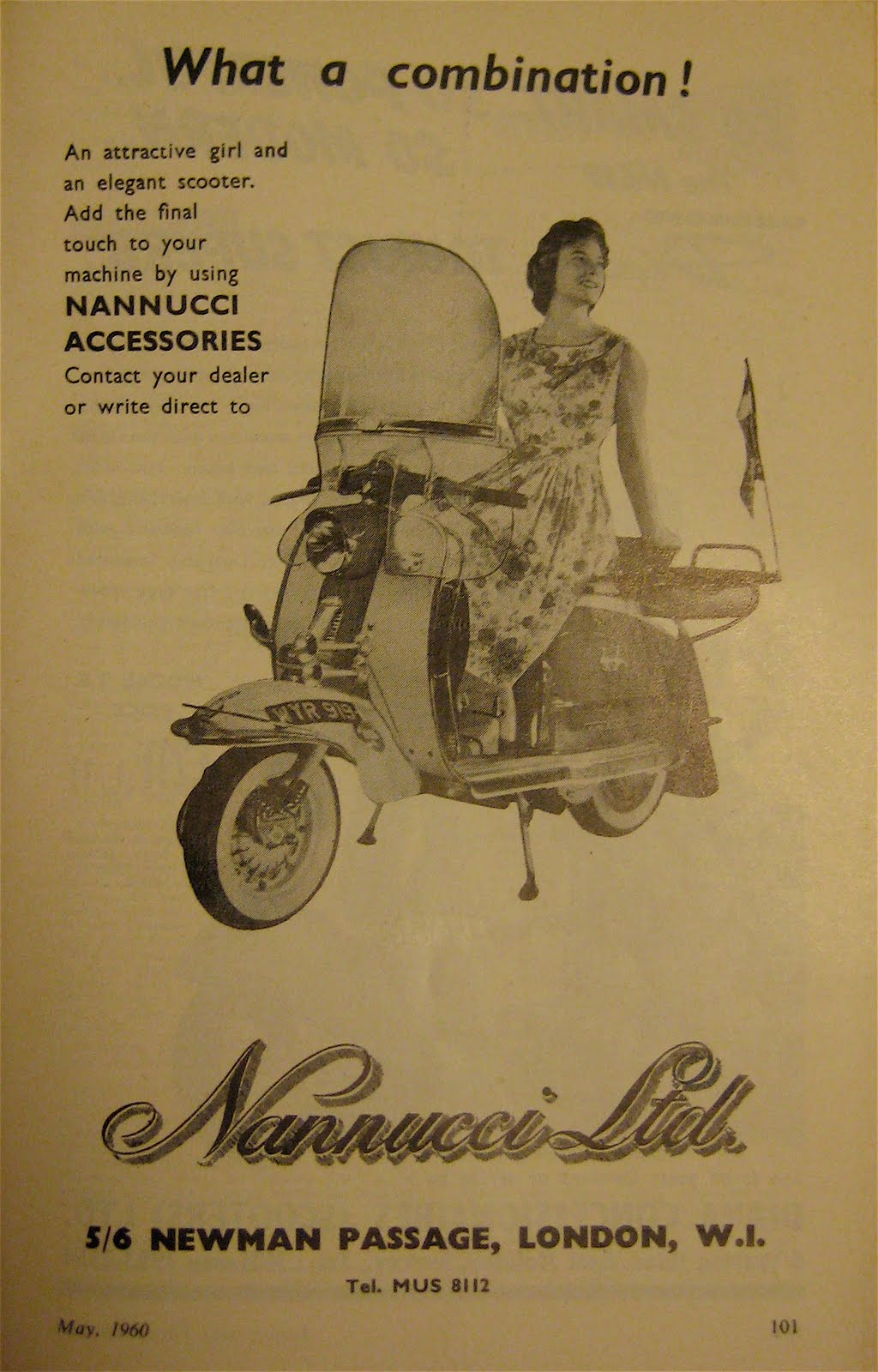 Vintage lambretta parka