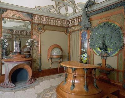 art+nouveau+interior+Alphonse+Marie+Mucha+1900 Art Nouveau interior design