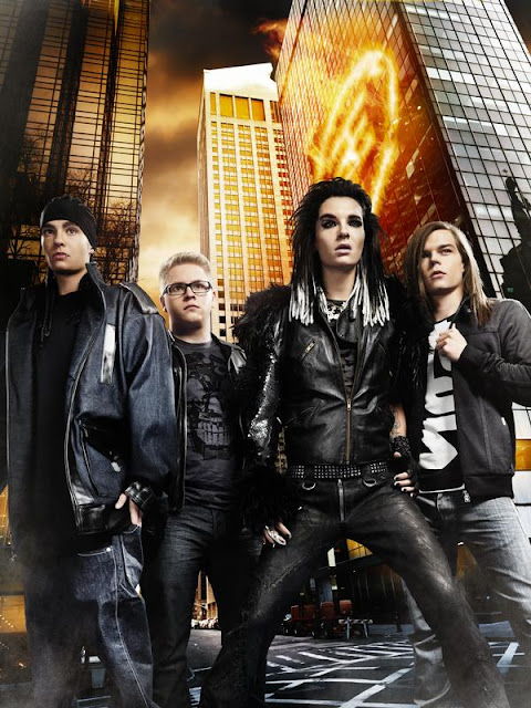 Amíg a föld kerek,a Tokio Hotel uralja a terepet!