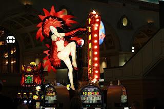 Penny Lady at Paris Casino - Las Vegas, NV