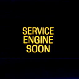 Service Engine Soon Dash Light from 2002 Ford Mustang GT