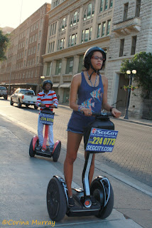 Fun on Segways